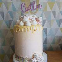 Mini Mixers Durham - birthday cake drip cake