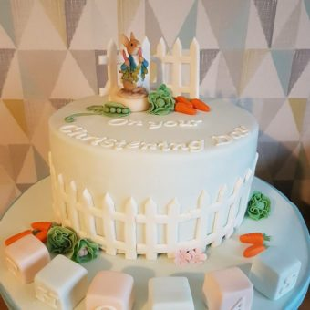 beatrix potter cake consett cake maker christening cake